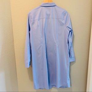 Eloquii Dresses - Eloquii Button Down Lace Inset Shirt Dress